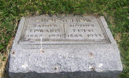 DOHSE GROESCHOW, LULU - Lucas County, Ohio | LULU DOHSE GROESCHOW - Ohio Gravestone Photos