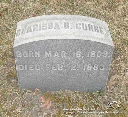 GURNEY, CLARISSA B. - Lucas County, Ohio | CLARISSA B. GURNEY - Ohio Gravestone Photos