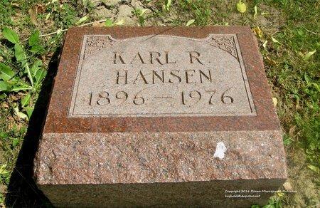 HANSEN, KARL R. - Lucas County, Ohio | KARL R. HANSEN - Ohio Gravestone Photos