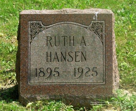 HANSEN, RUTH A. - Lucas County, Ohio | RUTH A. HANSEN - Ohio Gravestone Photos