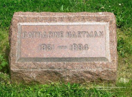 HARTMAN, CATHARINE - Lucas County, Ohio | CATHARINE HARTMAN - Ohio Gravestone Photos