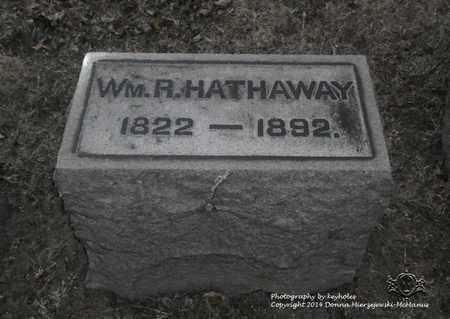 HATHAWAY, WM. R. - Lucas County, Ohio   WM. R. HATHAWAY - Ohio Gravestone Photos