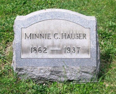 BLISS HAUSER, MINNIE C. - Lucas County, Ohio | MINNIE C. BLISS HAUSER - Ohio Gravestone Photos