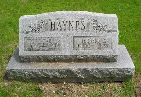 HAYNES, HERBERT O - Lucas County, Ohio | HERBERT O HAYNES - Ohio Gravestone Photos
