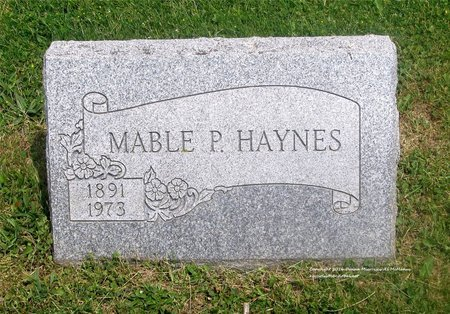 HAYNES, MABLE P. - Lucas County, Ohio | MABLE P. HAYNES - Ohio Gravestone Photos