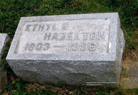PAPENFUS HAZELTON, ETHYL P. - Lucas County, Ohio | ETHYL P. PAPENFUS HAZELTON - Ohio Gravestone Photos