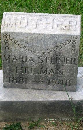 HEILMAN, MARIA - Lucas County, Ohio | MARIA HEILMAN - Ohio Gravestone Photos