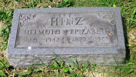 HINZ, HELMUTH - Lucas County, Ohio | HELMUTH HINZ - Ohio Gravestone Photos