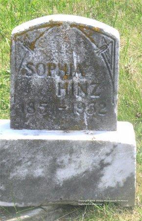 HINZ, SOPHIA - Lucas County, Ohio | SOPHIA HINZ - Ohio Gravestone Photos
