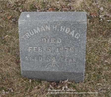 HOAG, TRUMAN H. - Lucas County, Ohio | TRUMAN H. HOAG - Ohio Gravestone Photos
