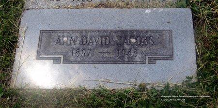 JACOBS, ANN - Lucas County, Ohio | ANN JACOBS - Ohio Gravestone Photos