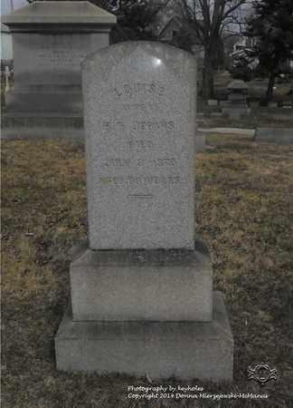 JERVIS, LOUISE - Lucas County, Ohio   LOUISE JERVIS - Ohio Gravestone Photos