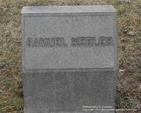 KEELER, SAMUEL - Lucas County, Ohio | SAMUEL KEELER - Ohio Gravestone Photos