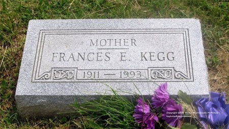 WERNERT KEGG, FRANCES E. - Lucas County, Ohio | FRANCES E. WERNERT KEGG - Ohio Gravestone Photos