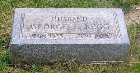 KEGG, GEORGE E. - Lucas County, Ohio | GEORGE E. KEGG - Ohio Gravestone Photos