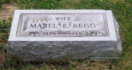 KEGG, MABEL E. - Lucas County, Ohio | MABEL E. KEGG - Ohio Gravestone Photos