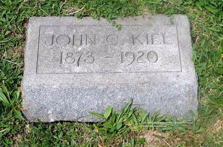 KIEL, JOHN C. - Lucas County, Ohio | JOHN C. KIEL - Ohio Gravestone Photos