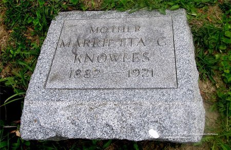 KNOWLES, MARIETTA C. - Lucas County, Ohio   MARIETTA C. KNOWLES - Ohio Gravestone Photos