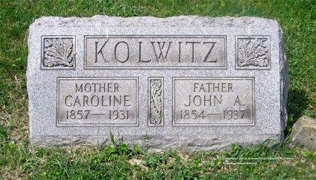 DREW KOLWITZ, CAROLINE - Lucas County, Ohio   CAROLINE DREW KOLWITZ - Ohio Gravestone Photos