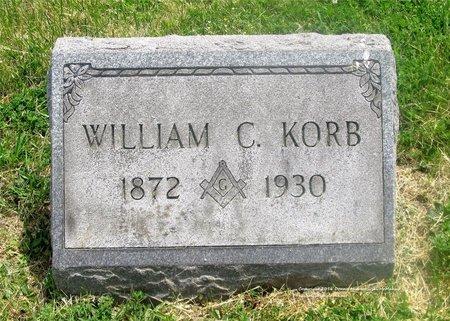 KORB, WILLIAM C. - Lucas County, Ohio | WILLIAM C. KORB - Ohio Gravestone Photos