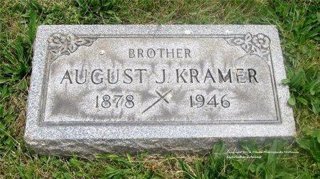 KRAMER, AUGUST J. - Lucas County, Ohio | AUGUST J. KRAMER - Ohio Gravestone Photos