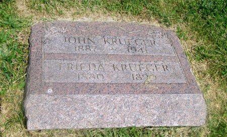 KRUEGER, FRIEDA - Lucas County, Ohio   FRIEDA KRUEGER - Ohio Gravestone Photos