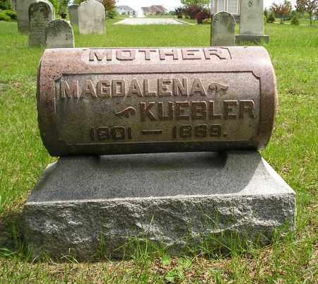 KUEBLER, MAGDALENA - Lucas County, Ohio | MAGDALENA KUEBLER - Ohio Gravestone Photos