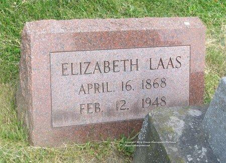 LAAS, ELIZABETH - Lucas County, Ohio | ELIZABETH LAAS - Ohio Gravestone Photos
