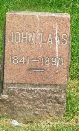 LAAS, JOHN - Lucas County, Ohio | JOHN LAAS - Ohio Gravestone Photos