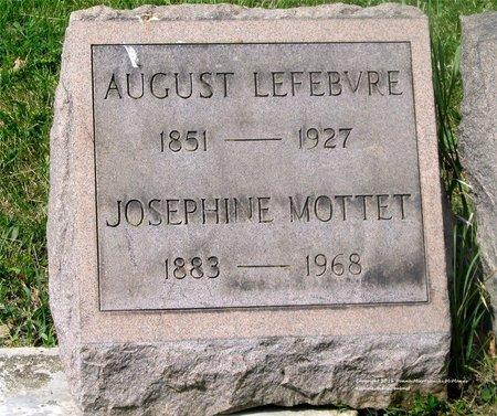 LEFEBVRE MOTTET, JOSEPHINE - Lucas County, Ohio | JOSEPHINE LEFEBVRE MOTTET - Ohio Gravestone Photos