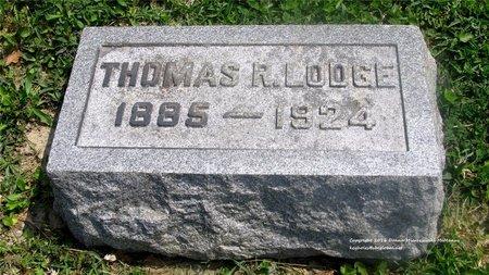 LODGE, THOMAS R. - Lucas County, Ohio | THOMAS R. LODGE - Ohio Gravestone Photos