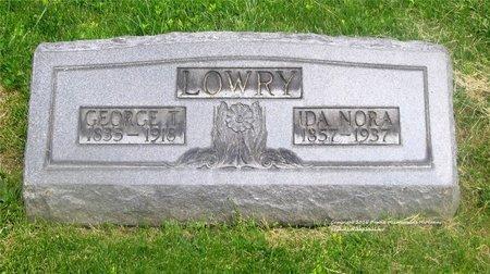 LOWRY, GEORGE T. - Lucas County, Ohio | GEORGE T. LOWRY - Ohio Gravestone Photos