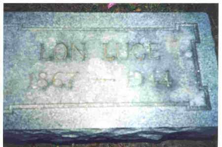 LUCE, ALONZO - Lucas County, Ohio | ALONZO LUCE - Ohio Gravestone Photos