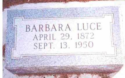 GEDERT LUCE, BARBARA LUCIA? - Lucas County, Ohio   BARBARA LUCIA? GEDERT LUCE - Ohio Gravestone Photos