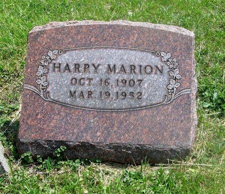 MARION, HARRY - Lucas County, Ohio   HARRY MARION - Ohio Gravestone Photos