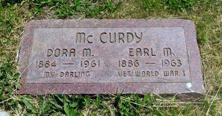 MCCURDY, DORA M. - Lucas County, Ohio | DORA M. MCCURDY - Ohio Gravestone Photos