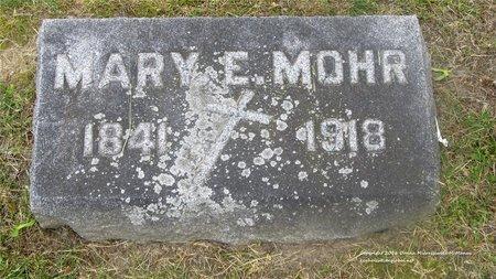 MOHR, MARY E. - Lucas County, Ohio | MARY E. MOHR - Ohio Gravestone Photos