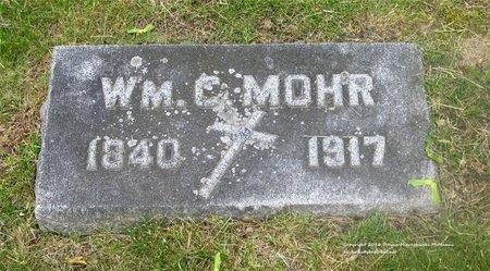 MOHR, WILLIAM C. - Lucas County, Ohio   WILLIAM C. MOHR - Ohio Gravestone Photos