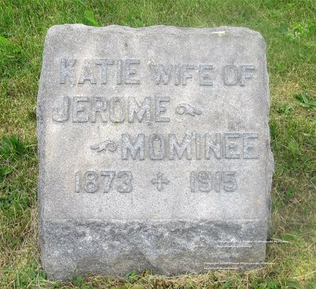 MOMINEE, KATIE - Lucas County, Ohio | KATIE MOMINEE - Ohio Gravestone Photos