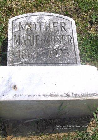 MOSER, MARIE - Lucas County, Ohio | MARIE MOSER - Ohio Gravestone Photos