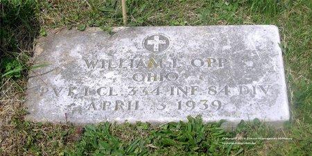 OPP, WILLIAM L. - Lucas County, Ohio   WILLIAM L. OPP - Ohio Gravestone Photos