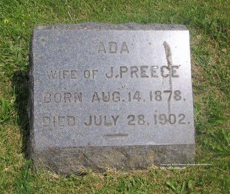 PREECE, ADA - Lucas County, Ohio | ADA PREECE - Ohio Gravestone Photos