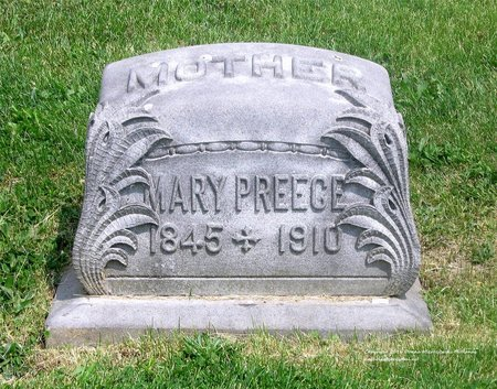 PREECE, MARY - Lucas County, Ohio | MARY PREECE - Ohio Gravestone Photos