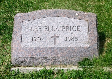 PRICE, LEE ELLA - Lucas County, Ohio | LEE ELLA PRICE - Ohio Gravestone Photos