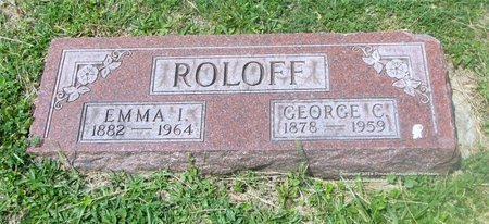 ROLOFF, GEORGE C. - Lucas County, Ohio | GEORGE C. ROLOFF - Ohio Gravestone Photos