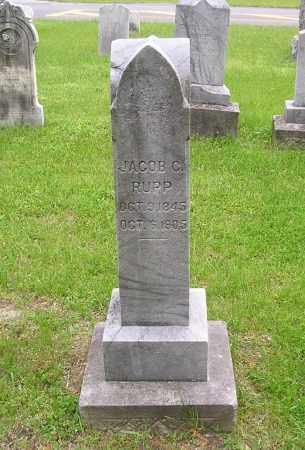 RUPP, JACOB C - Lucas County, Ohio | JACOB C RUPP - Ohio Gravestone Photos