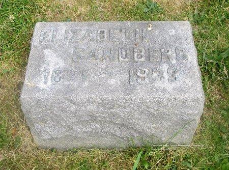 SANDBERG, ELIZABETH - Lucas County, Ohio | ELIZABETH SANDBERG - Ohio Gravestone Photos