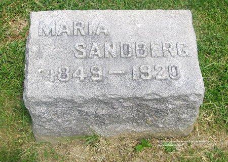 SANDBERG, MARIA - Lucas County, Ohio | MARIA SANDBERG - Ohio Gravestone Photos