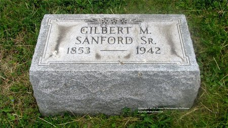 SANFORD, GILBERT M. - Lucas County, Ohio | GILBERT M. SANFORD - Ohio Gravestone Photos