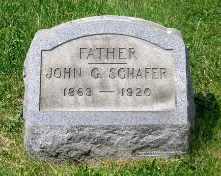 SCHAFER, JOHN G. - Lucas County, Ohio | JOHN G. SCHAFER - Ohio Gravestone Photos